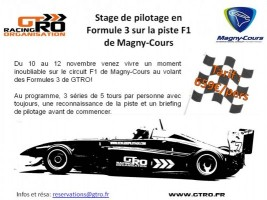 gtro stage de pilotage sur magny cours f1 2 me dition. Black Bedroom Furniture Sets. Home Design Ideas