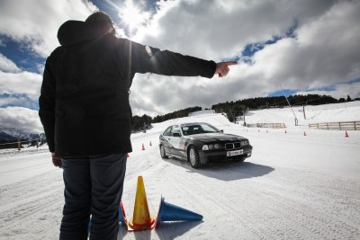 stage conduite sur glace
