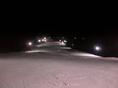 Ski de Nuit La Quillane Pyrénées - Circuit de glace